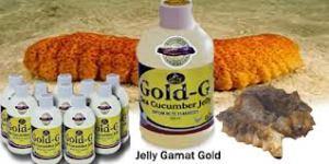 jell gold dan teripang